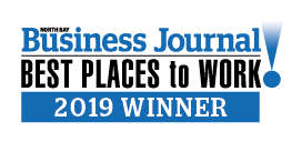 North Bay Business Journal's Best Places to Work in Sonoma County 2019 Winner Graphic