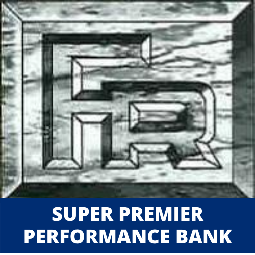 logo of findley reports with caption super premier performance bank